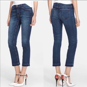Current Elliott Cropped straight jeans Size 25